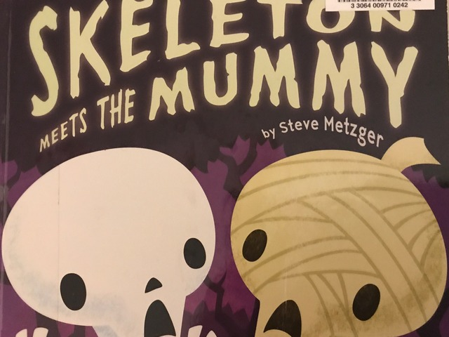 Skeleton Meet The Mummy 2 by Lori Board
