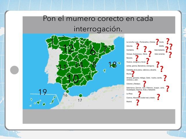 Provincias de España. Sociales. by Amaya Sanchez Arias
