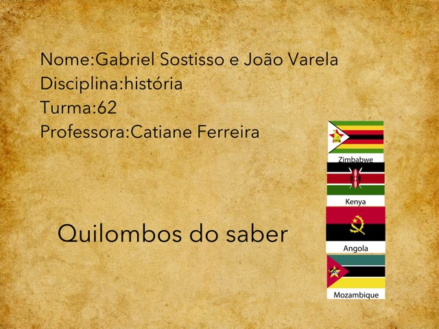 Gabriel S E João V  by Rede Caminho do Saber