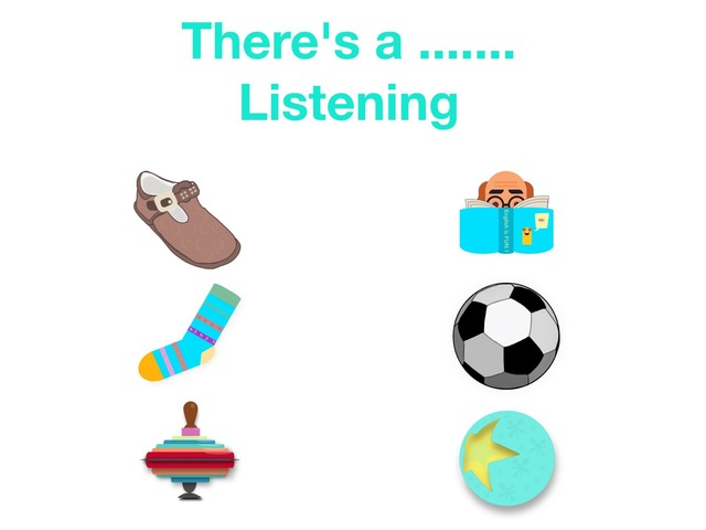 There's a - Listening - Clothes & Possessions by Teeny Tiny TEFL