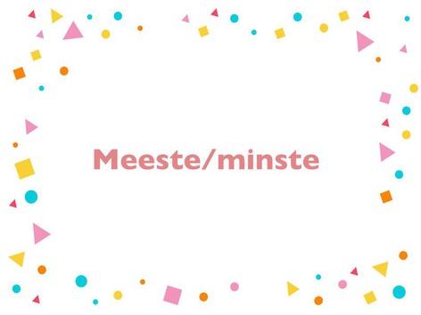 Meeste En Minste by Elise Coppens
