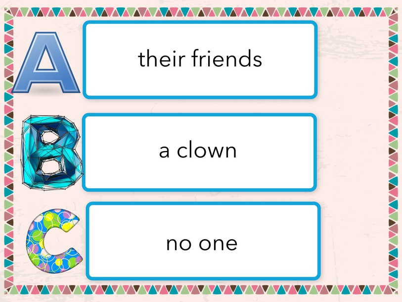 Comprehension Test For Let's Go To The Circus RAZ Level G by Cindy Derienzo