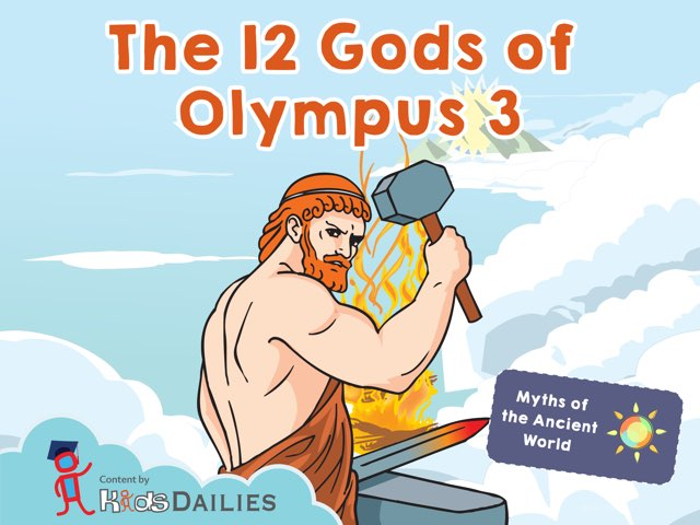 The 12 Gods of Olympus III by Kids Dailies