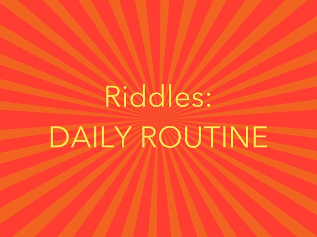 RIDDLES 2 by Laurence Micheletti