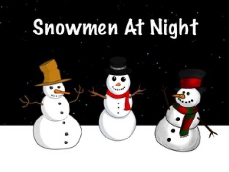 Snowmen At Night by Ellen Weber