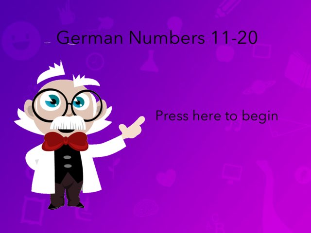 German Numbers 11-20 by Josh Dobos