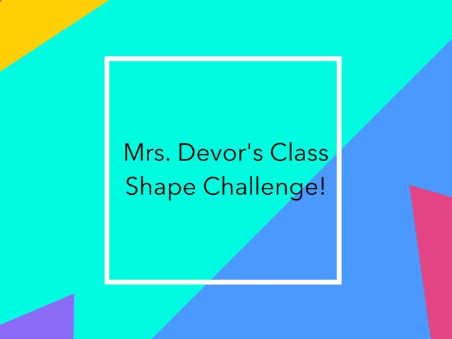 Devor shape challenge by Diana Coyne