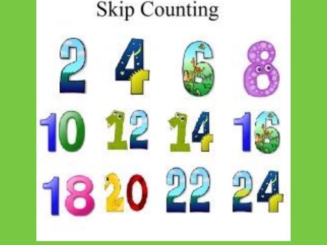 Skip Counting  by Carol Smith