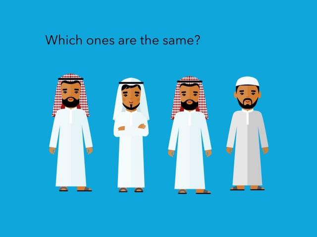 Same: Arabic Time by Carol Smith