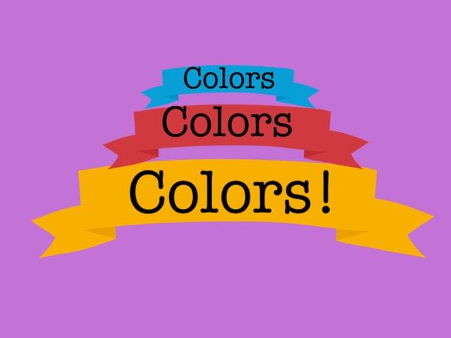 Colors Colors Colors! by Maya Roushdy
