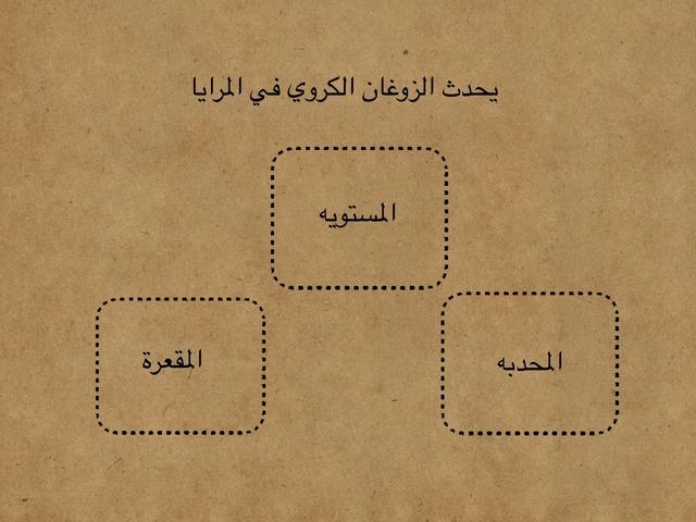 المرايا المقعرة  by اريج البارقي