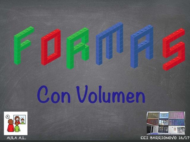 FORMAS VOLUMEN by Aida Muestra A.L.