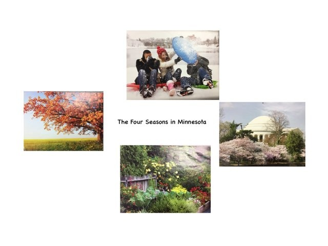 The Four Seasons In Minnesota by Rebecca Jarvis