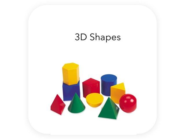3D Shapes by Aisha Al Shamsi