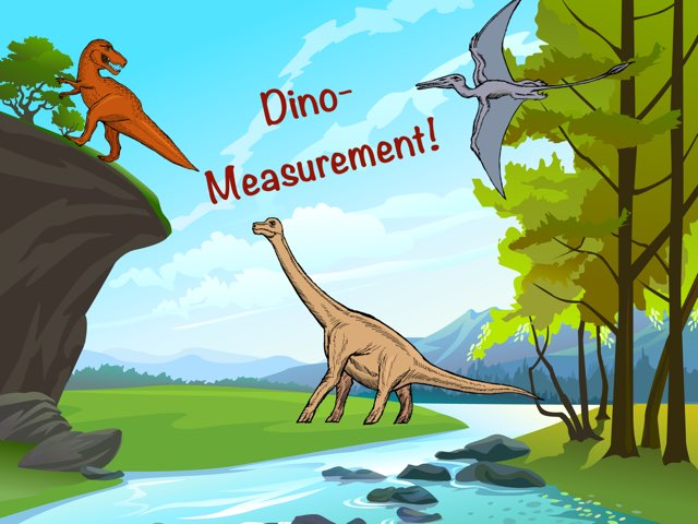Dino-Measurement! by Alex Clary