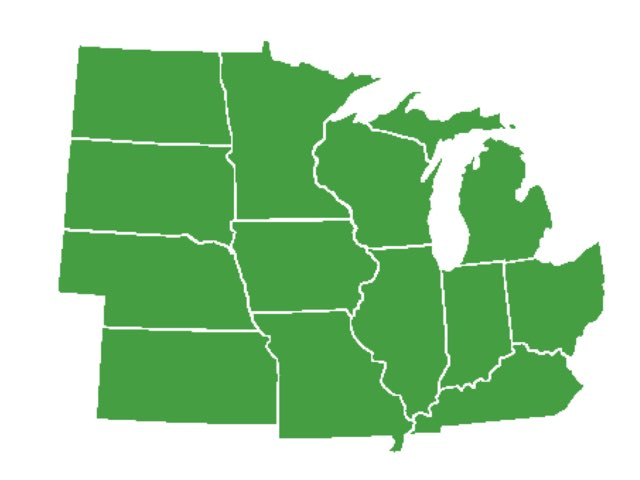 Midwest States by Catherine Saylor