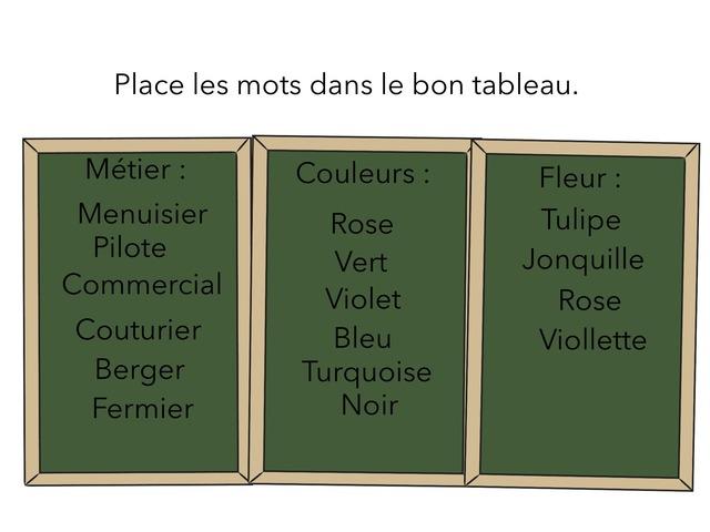 Choisir Le Bon Mots  by Lin