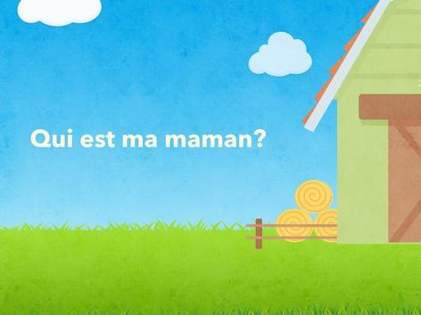 Retrouve La Maman Des Bébés Animaux De La Ferme by Vv Vlto