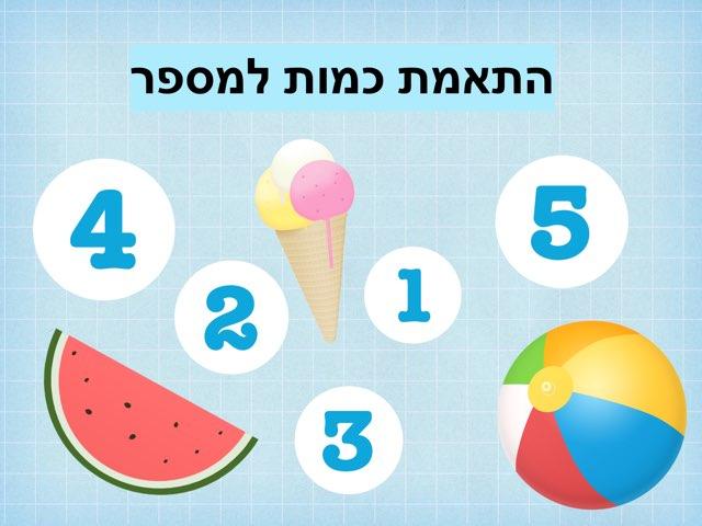 התאמת כמות למספר by Irit Almadvi