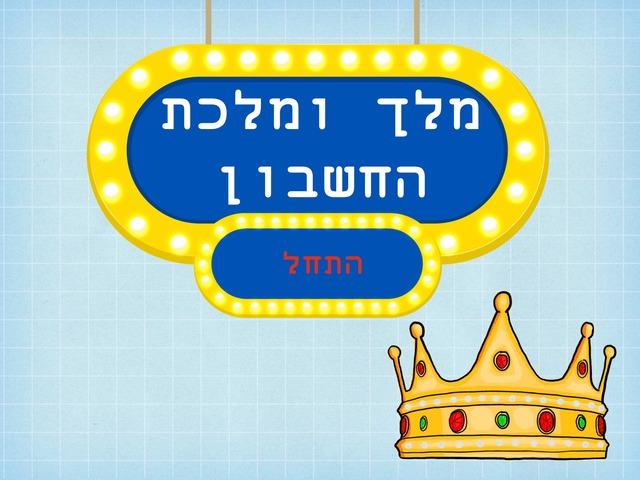 מלך ומלכת החשבון by Adi Ohad