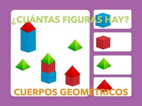 ¿CUÁNTAS FIGURAS HAY? CUERPOS GEOMÉTRICOS. by Jose Sanchez Ureña