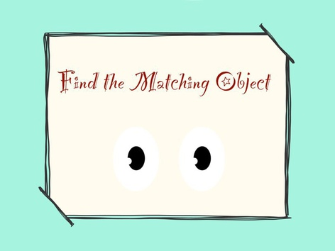 Find the Matching Object by Michelle Cabalo