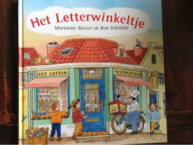 Het letterwinkeltje - Deel 1 by Britt vanKessel