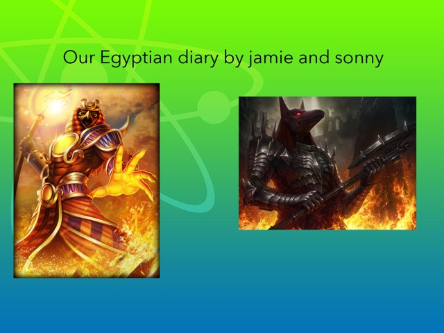 Egyptian Jamie And  SONNY by St Cecilias