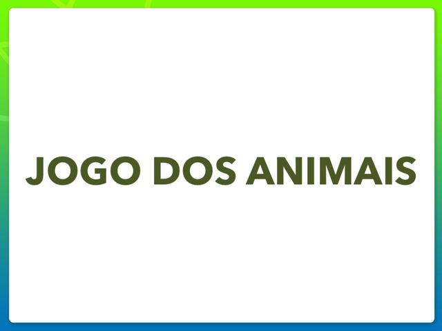 Jogo Dos Animais by Eliane Damasceno Rodrigues