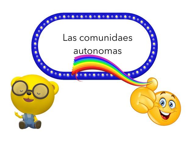Comunidades Autónomas by Alvaro Ballesteros, Escalante