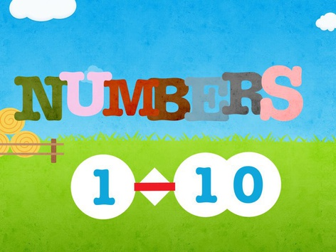 Numbers 1-10 by natasa delac