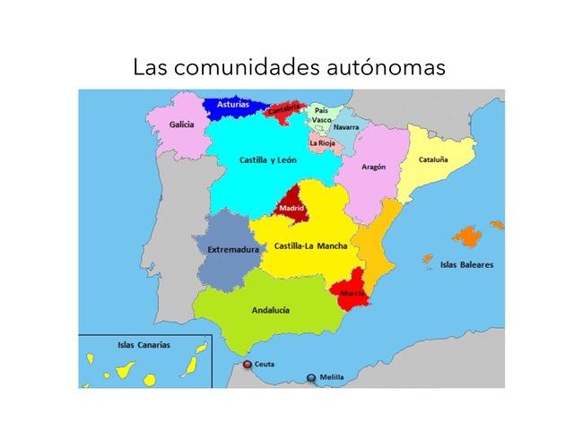 Comunidades Autónomas by Marta Nieto Toribio