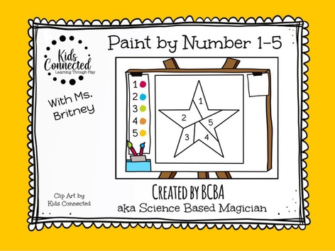 Paint By Number 1-5 Star(UK) by Kids  Connected