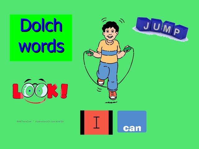 Dolch Sight Vocabulary #1 by Carol Smith