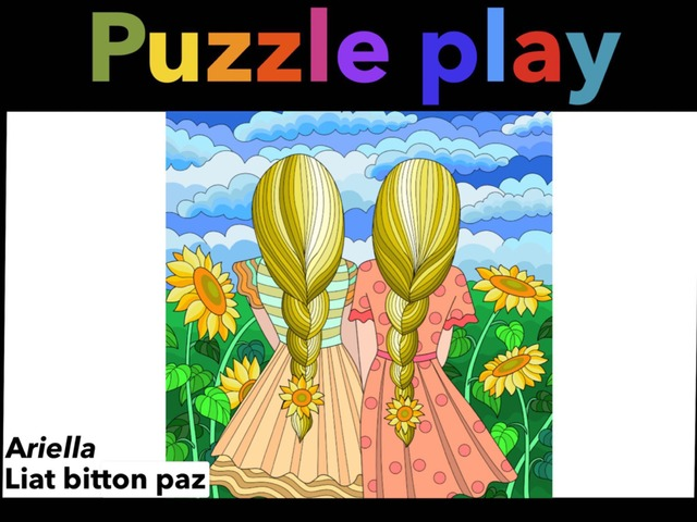 Puzzle Play 5 by Liat Bitton-paz