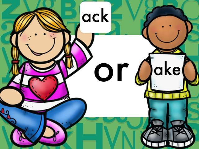 ack or ake by Jennifer