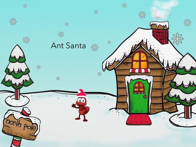 Ant Santa  by MOLLY THOMPSON