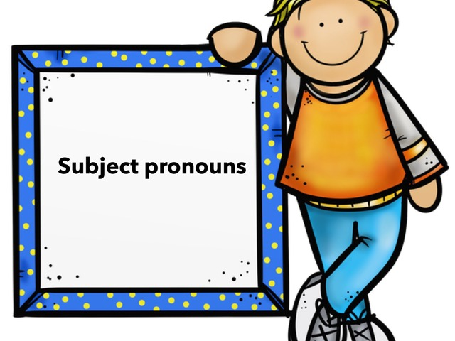 Subject Pronouns by Om Habibah
