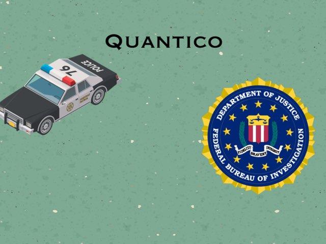 Quantico  by Sarah Berouaken