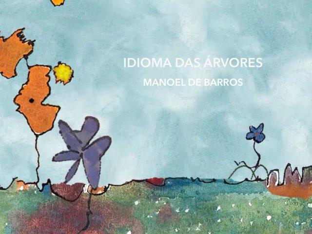 IDIOMA DAS ÁRVORES - Interagindo com o poema by Renata Giovannelli
