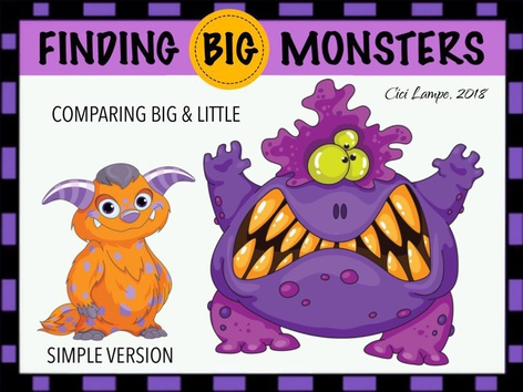 Big & Little Monsters by Cici Lampe