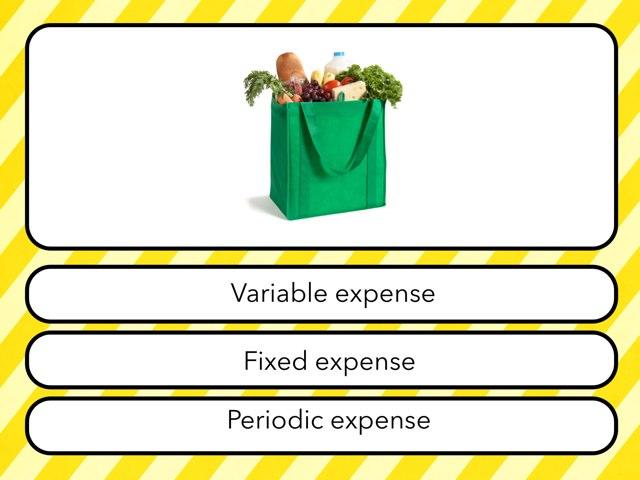 Types Of Expenses by Karen Schwent