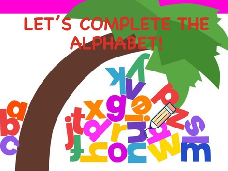 Complete the ABCs by Marcela Assis