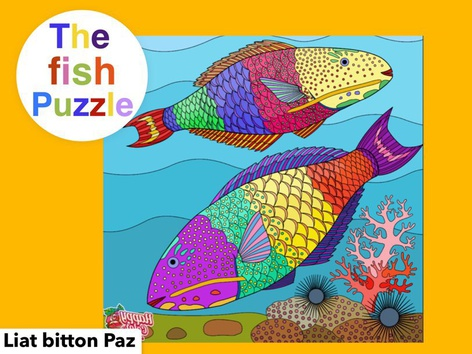 The Fish Puzzle  by Liat Bitton-paz