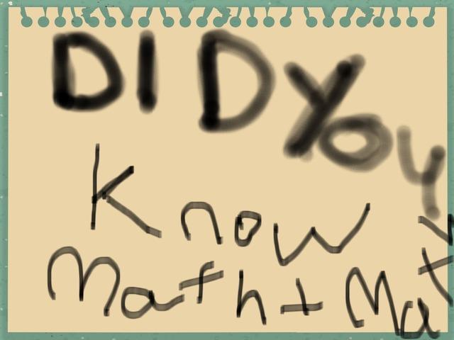 Do You Know Da Math by Colourful Crew