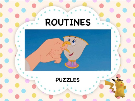 Routines - Puzzles by ShowAnd Text