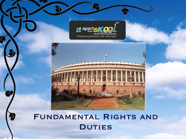 Fundamental Rights And Duties by TinyTap creator