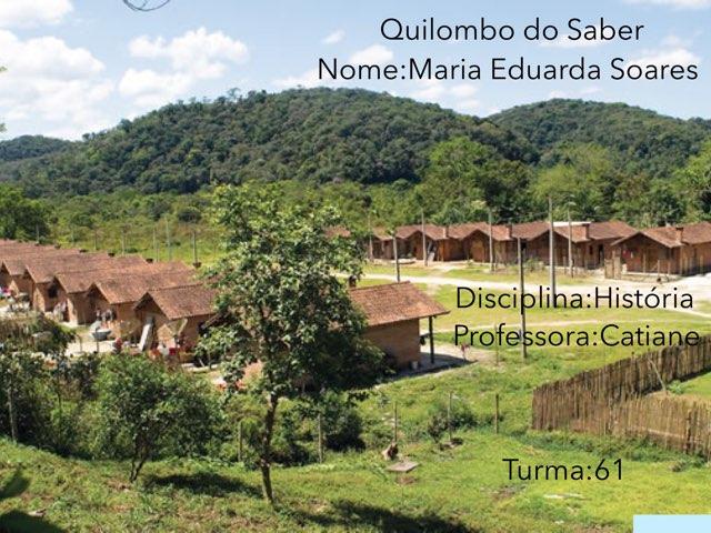Maria Eduarda Soares by Rede Caminho do Saber