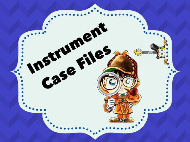 Instrument Case Files by A. DePasquale