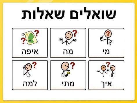 שאלות by Beit Issie Shapiro